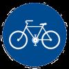 Dopravní značka cyklostezky